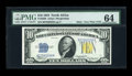 Small Size:World War II Emergency Notes, Fr. 2308 $10 1934 North Africa Silver Certificate. PMG ChoiceUncirculated 64.. ...