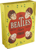 "Music Memorabilia:Memorabilia, Beatles Box of Hair Pomade. A vintage box of 100 packets of Beatles""Highest Quality"" hair pomade, manufactured by H. H. Cos... (Total:1 Item)"