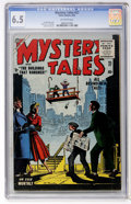 Golden Age (1938-1955):Horror, Mystery Tales #27 (Atlas, 1955) CGC FN+ 6.5 Off-white pages....