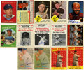 Autographs:Sports Cards, 1950s-70s Signed Trading Cards, Group Lot of 83. From baseball cardissues released from the 1950s-70s we offer this collec...