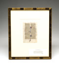 Books:Manuscripts, Page from an Illuminated Thirteenth Century French Bible...