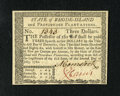 Colonial Notes:Rhode Island, Rhode Island July 2, 1780 $3 Gem New. This is a lovely gem exampleof this later issue that is as nice as one could possibly...