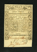 Colonial Notes:Rhode Island, Rhode Island May 1786 L3 Gem New. This is a very broadly marginedand well embossed example of this scarcer high denominatio...