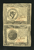 Colonial Notes:Continental Congress Issues, Continental Currency September 26, 1778 $7/$8 Uncut Pair ChoiceAbout New+++. Continental multiples are not nearly as common...(Total: 2 notes)