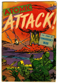 Atomic Attack #5 (Youthful Magazines, 1953) Condition: VG-