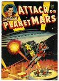 Golden Age (1938-1955):Science Fiction, Attack on Planet Mars #nn (Avon, 1951) Condition: VG+....