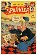 "Golden Age (1938-1955):Miscellaneous, Sparkler Comics #59 Davis Crippen (""D"" Copy) pedigree (United Features Syndicate, 1946) Condition: VF/NM.... (Total: 0)"
