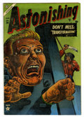 Golden Age (1938-1955):Horror, Astonishing #34 (Atlas, 1954) Condition: VG/FN....