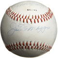 Autographs:Baseballs, New York Yankees Old Timers Multi-Signed Baseball with DiMaggio andMantle. New York Yankees legends Joe DiMaggio and Mickey...