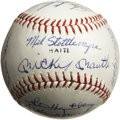Autographs:Baseballs, 1968 New York Yankees Team Signed Baseball. Twenty-two signaturesfrom the Bronx Bombers of the 1968 season appear on the s...