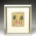 Antiques:Folk Art, Indian Miniature...