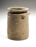 Antiques:Antiquities, Babylonian Pottery Vessel...