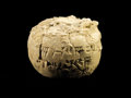 Antiques:Antiquities, Round Cuneiform Bulla...