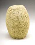 Antiques:Antiquities, Babylonian Cuneiform Barrel...