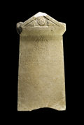 Antiques:Antiquities, Greek Marble Gravestone...