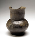 American Indian Art:Pottery, Incised Native American Vase...