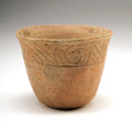 American Indian Art:Pottery, Pre-Historic Native American Bowl...