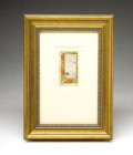 Books:Manuscripts, Book of Hours Manuscript Leaf...