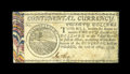 Colonial Notes:Continental Congress Issues, Continental Currency May 10, 1775 $20 Extremely Fine....