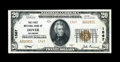 National Bank Notes:Delaware, Dover, DE - $20 1929 Ty. 2 The First NB Ch. # 1567. ...