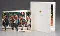 Royal Memorabilia:British, Two Christmas Cards from Queen Elizabeth and Queen Elizabeth II toPrince Charles and Princess Diana . Two printed Christm... (Total:2 Items)
