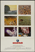 "Movie Posters:Rock and Roll, Woodstock (Warner Brothers, 1970). One Sheet (27"" X 41""). Rock andRoll...."