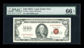Small Size:Legal Tender Notes, Fr. 1551 $100 1966A Legal Tender Note. PMG Gem Uncirculated 66 EPQ.. ...