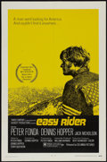 "Movie Posters:Drama, Easy Rider (Columbia, 1969). One Sheet (27"" X 41""). Drama...."