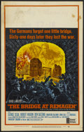 "Movie Posters:War, The Bridge At Remagen Lot (United Artists, 1969). Window Cards (2)(14"" X 22""). War.... (Total: 2 Items)"
