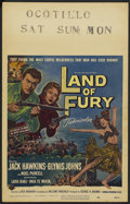"Movie Posters:Adventure, Land of Fury Lot (Universal International, 1955). Window Cards (2)(14"" X 22""). Adventure.... (Total: 2 Items)"