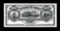 Large Size:Demand Notes, Hawaii $10 1895 Pick 12p Uniface Proof. ...