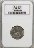 Proof Seated Quarters: , 1879 25C PR63 NGC. NGC Census: (47/158). PCGS Population (78/105).Mintage: 1,100. Numismedia Wsl. Price for NGC/PCGS coin ...