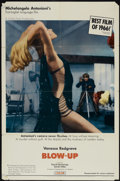 """Movie Posters:Thriller, Blow-Up (MGM, 1967). One Sheet (27"""" X 41""""). Thriller...."""
