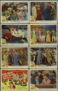"""Movie Posters:Sports, Take Me Out to the Ball Game (MGM, 1949). Lobby Card Set of 8 (11"""" X 14""""). Sports.... (Total: 8 Items)"""