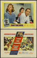 """Movie Posters:Adventure, Beat the Devil (United Artists, 1953). Title Lobby Card and LobbyCard (11"""" X 14""""). Adventure.... (Total: 2 Items)"""