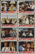 "Movie Posters:Adventure, Viva Maria! (United Artists, 1966). Lobby Card Set of 8 (11"" X14""). Adventure.... (Total: 8 Items)"
