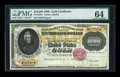 Large Size:Gold Certificates, Fr. 1225 $10000 1900 Gold Certificate PMG Choice Uncirculated 64....