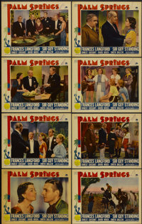 """Palm Springs (Paramount, 1936). Lobby Card Set of 8 (11"""" X 14""""). Comedy.... (Total: 8 Items)"""