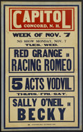 """Movie Posters:Miscellaneous, Window Card Lot (Various, ca. 1927). Window Cards (2) (14"""" X 22""""). Miscellaneous.... (Total: 2 Items)"""