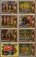 """Movie Posters:Sexploitation, Everybody's Girl (Roadshow Attractions, 1950). Lobby Card Set of 8(11"""" X 14""""). Sexploitation.... (Total: 8 Items)"""