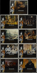 """Movie Posters:Fantasy, Excalibur (Warner Brothers, 1981). Lobby Card Set of 9 (11"""" X 14""""). Fantasy.... (Total: 9 Items)"""