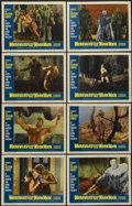 """Movie Posters:Fantasy, Hercules Against the Moon Men (Governor Films, 1965). Lobby CardSet of 8 (11"""" X 14""""). Fantasy.... (Total: 8 Items)"""
