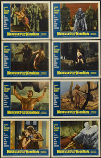 "Hercules Against the Moon Men (Governor Films, 1965). Lobby Card Set of 8 (11"" X 14""). Fantasy.... (Total: 8 I..."