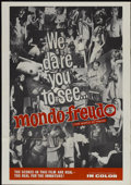 "Movie Posters:Documentary, Mondo Freudo (Olympic International, 1966). One Sheet (28"" X 40""). Documentary...."
