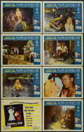 "Movie Posters:Comedy, Private Lives of Adam and Eve (Universal International, 1960). Lobby Card Set of 8 (11"" X 14""). Comedy.... (Total: 8 Items)"