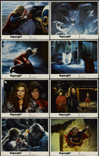 """Supergirl (Tri-Star, 1984). Lobby Card Set of 8 (11"""" X 14""""). Adventure.... (Total: 8 Items)"""