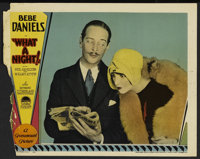 """What a Night! (Paramount, 1928). Lobby Card (11"""" X 14""""). Comedy"""