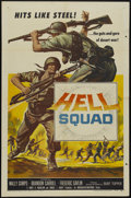 "Movie Posters:War, Hell Squad (American International, 1958). One Sheet (27"" X 41"").War...."