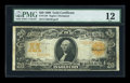 Large Size:Gold Certificates, Fr. 1184 $20 1906 Gold Certificate PMG Fine 12....