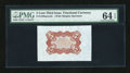 Fractional Currency:Third Issue, Fr. 1236SP 5c Third Issue Wide Margin Back PMG Choice Uncirculated 64 EPQ....